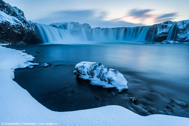 Godafoss in winter mood