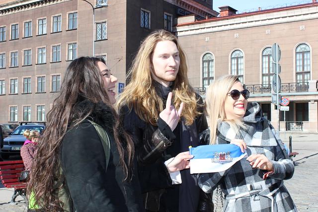 Walking tour photos from Pre-Party Latvia