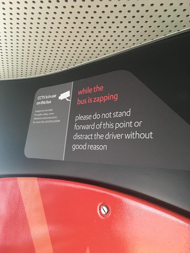 CityZap - interior signage