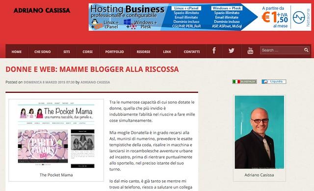donne e web dal blog di Adriano Casissa