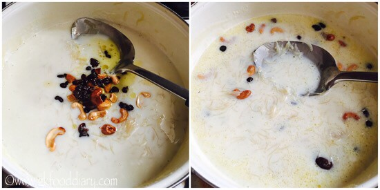 Vermicelli Kheer Recipe for Babies, Toddlers and Kids - step 5