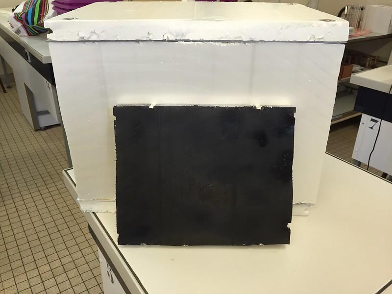 fabrication de la station solaire productrice de dihydrogène