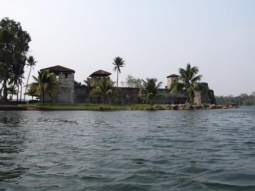 Le Rio Dulce et son fort