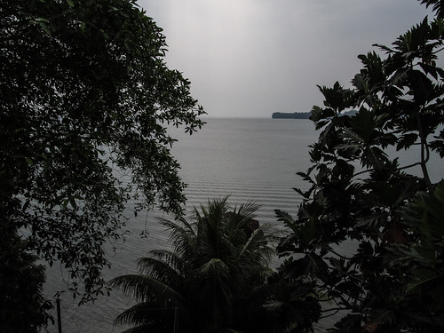 Lívingston: vue depuis la terrasse de notre hôtel