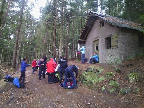 Mercredi 13 Avril 2016 :  Abri avant le Col du Petit Haut