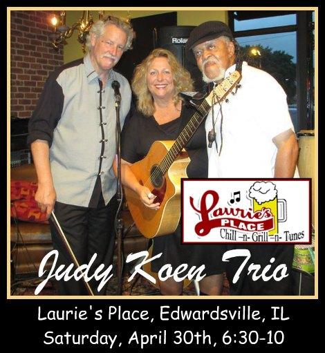 Judy Koen Trio 4-30-16