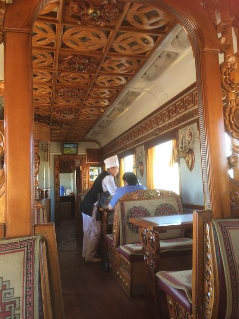 Mongolian restaurant wagon