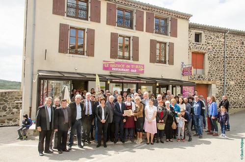 Inauguration Bistrot de Pays - Saint-Jean-le-Centenier (16)