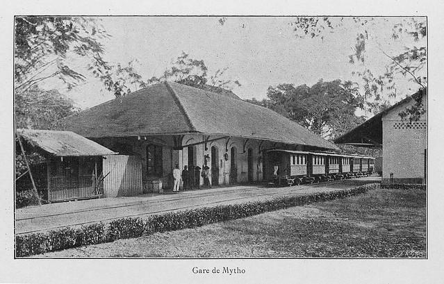 Gare de Mytho - Ga xe lửa Mỹ Tho (1900)