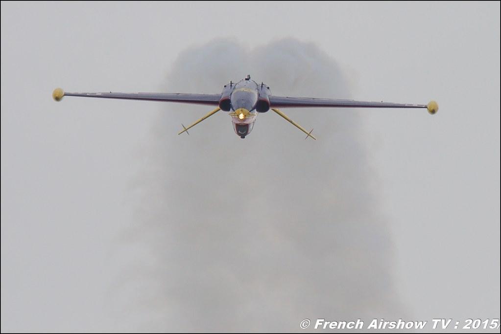 Fouga CM-170R Magister Patrouille Tranchant F-GSYD Salon du Bourget Sigma France Paris Airshow 2015
