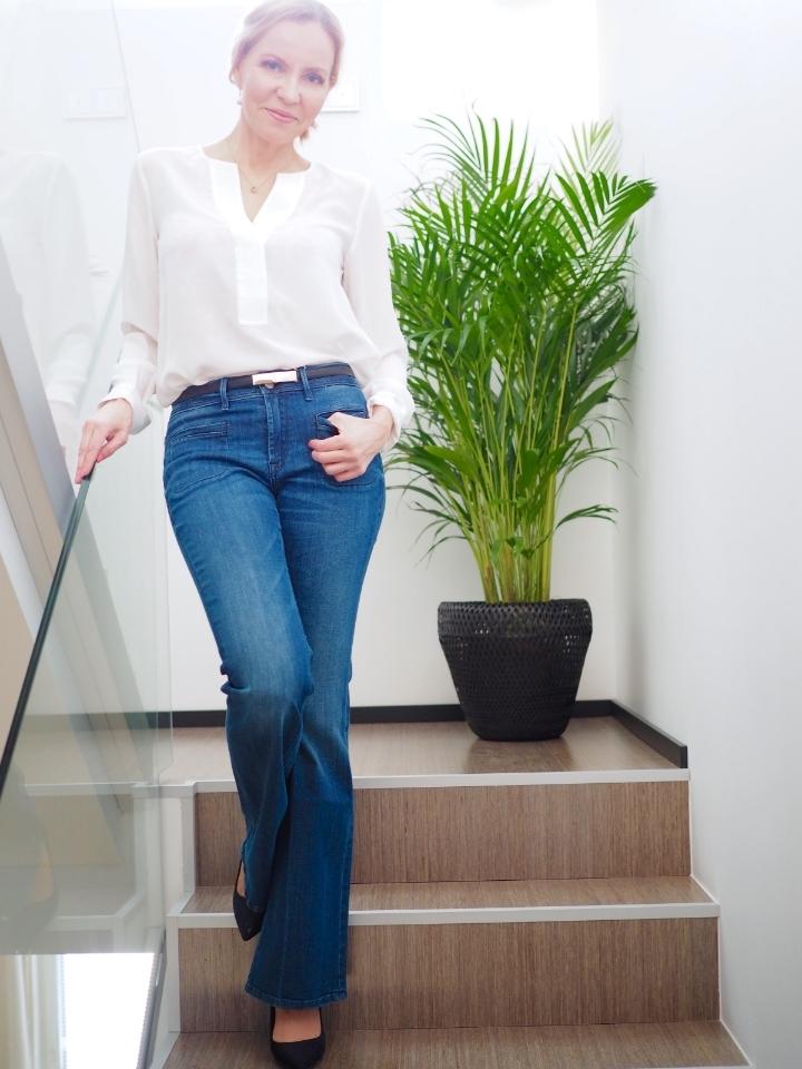 Ichi Flare Jeans
