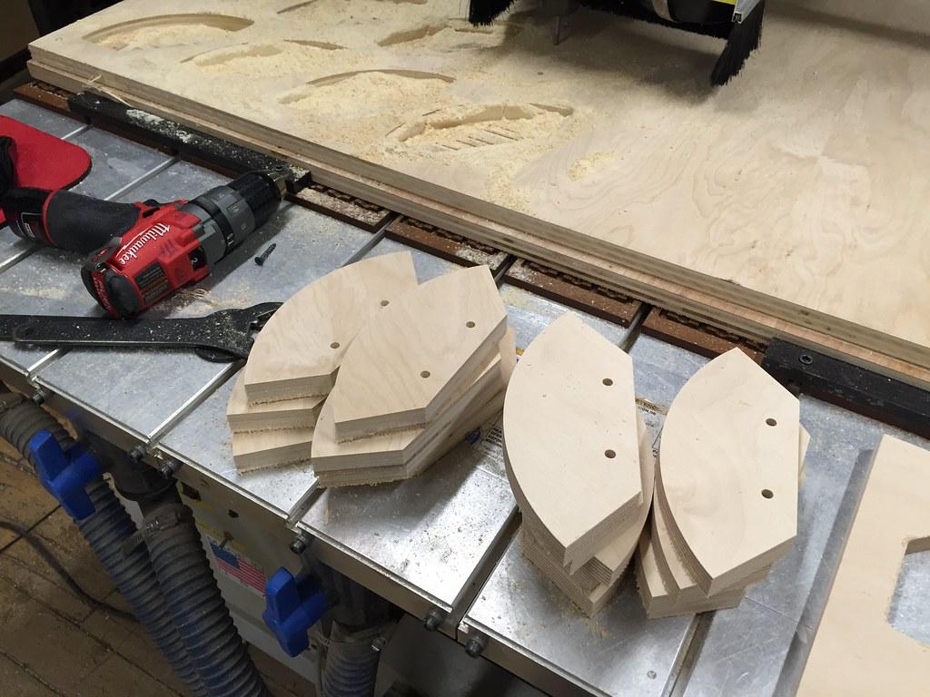 CNC'd Plywood Parts