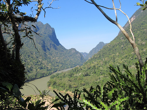Muang Ngoi: depuis le sommet