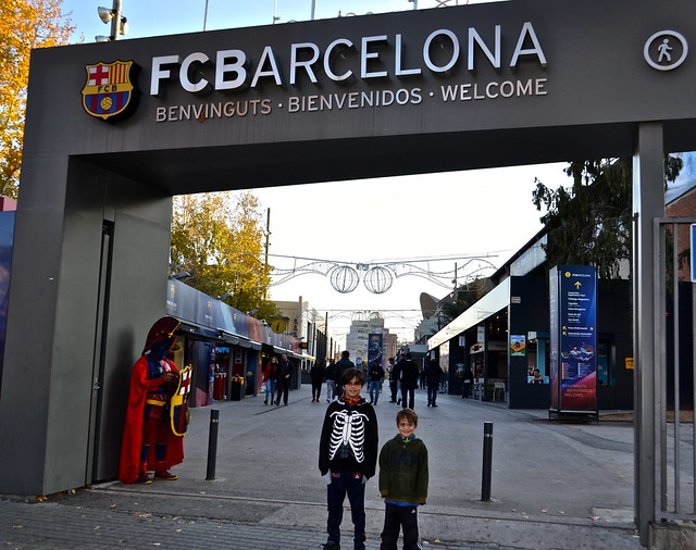 Camp Nou Barcelona - entrance