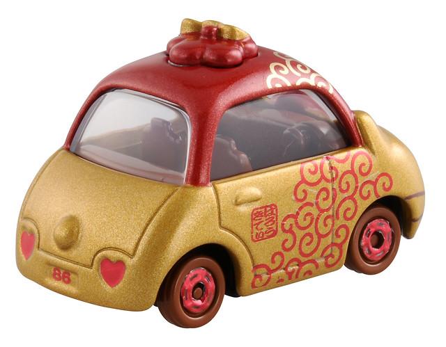 化身可愛的和風小汽車!「Dream Tomica 凱蒂貓 Collection」