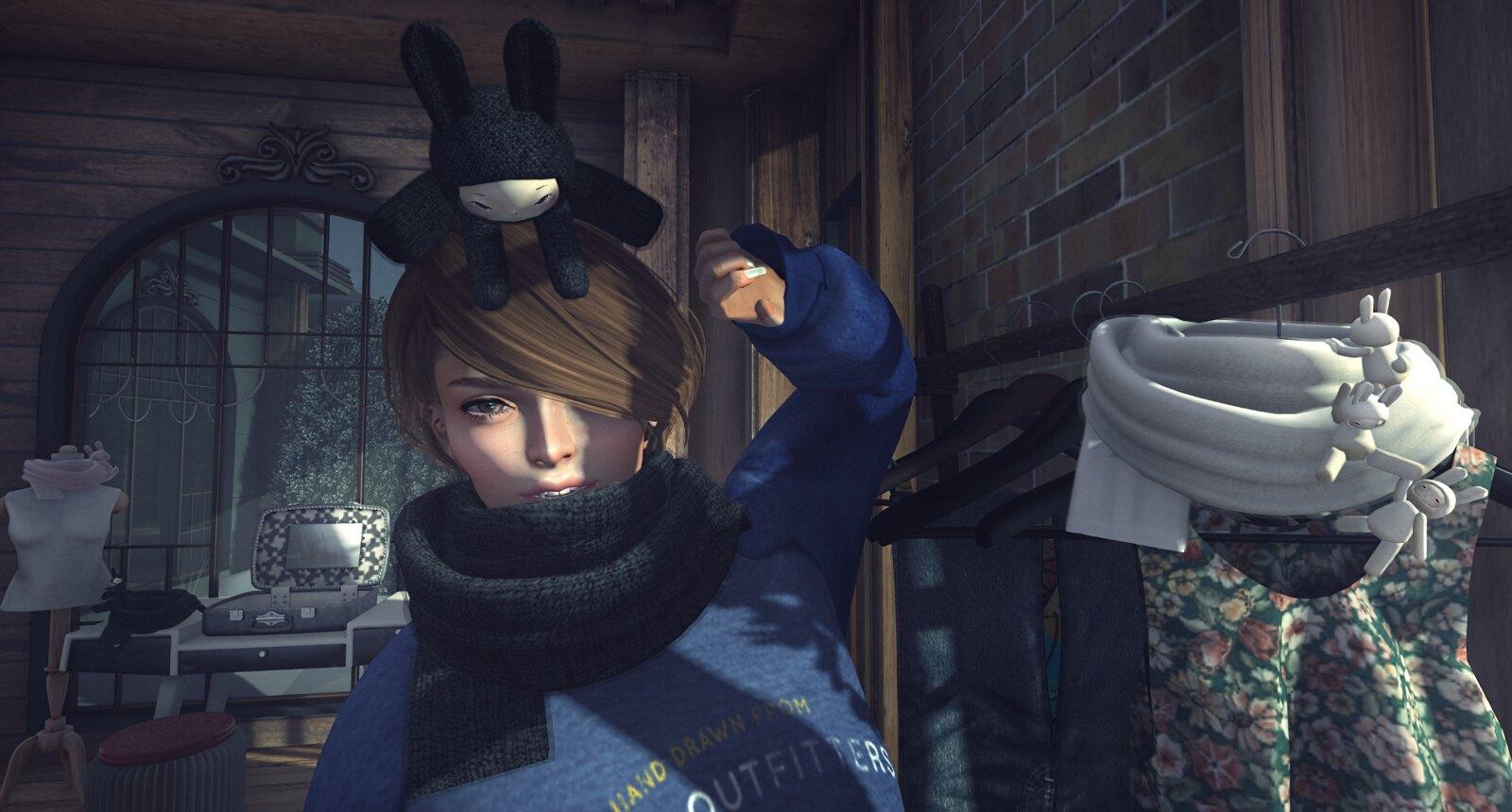 NAMINOKE Bunny Muffs for Wayward Winter