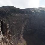 Cráter del Vesuvio