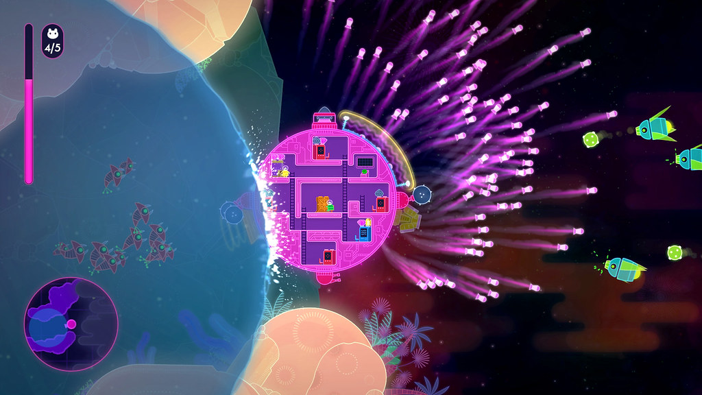 Lovers in a Dangerous Spacetime on PS4