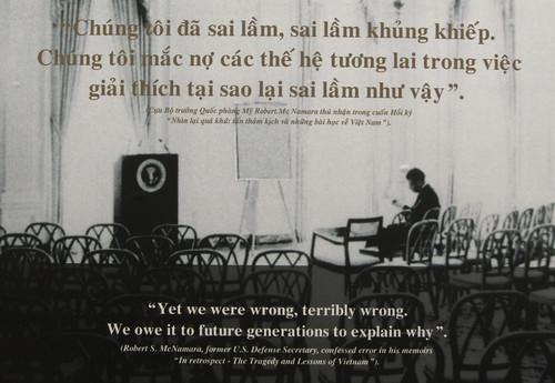Ho Chi Minh Ville: le Musée des Vestiges de Guerre