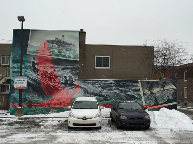 Mural in Lachine