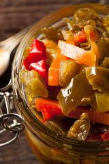 Spicy Homemade Pickled Giardiniera