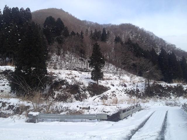 土蔵岳 上原谷 橋