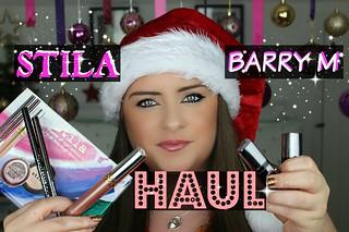 Makeup Haul STILA, Barry M