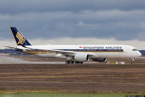 Singapore Airlines Airbus A350-941 cn 026 F-WZFU // 9V-SMA