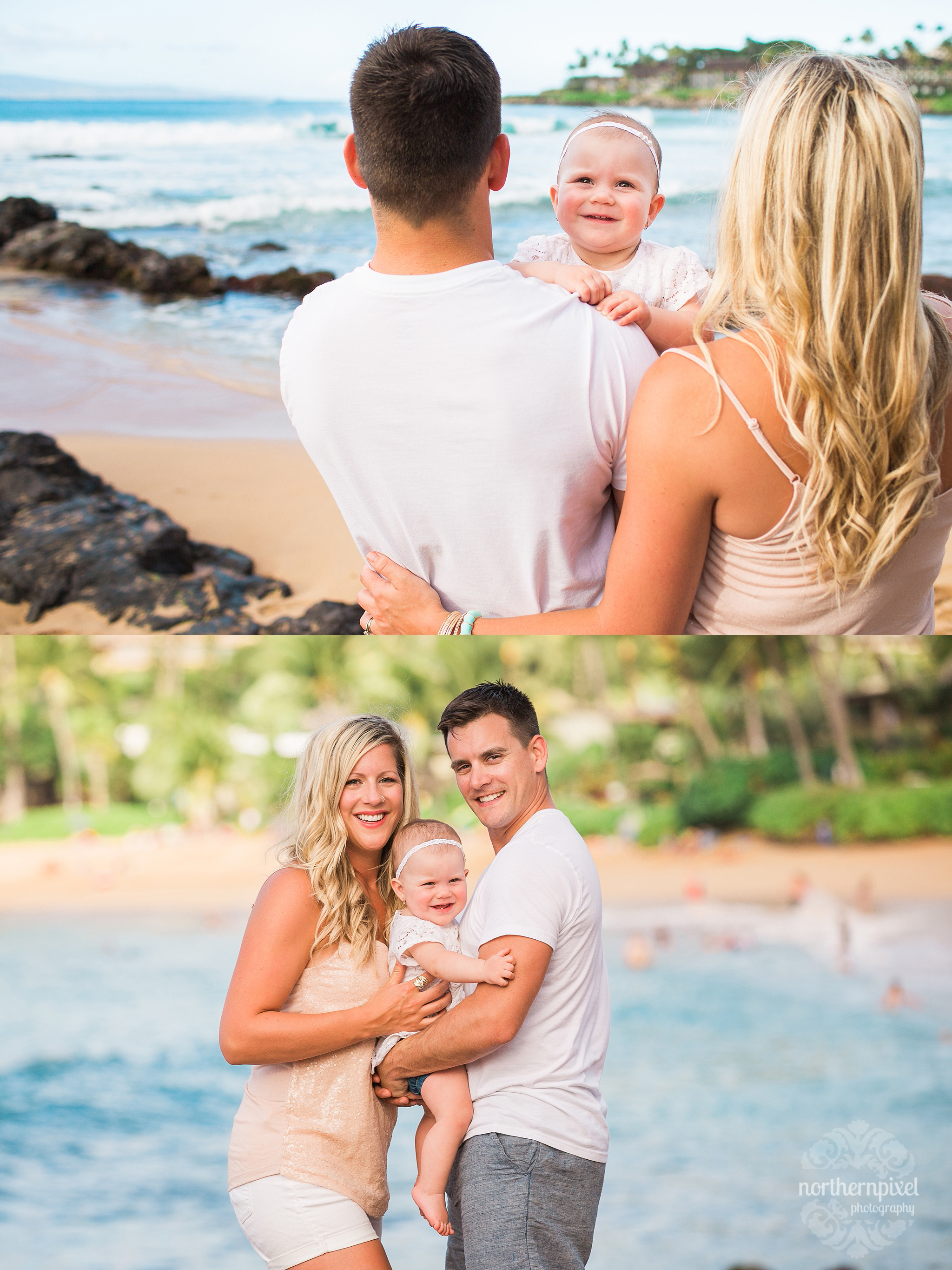Family Photos at the Beach