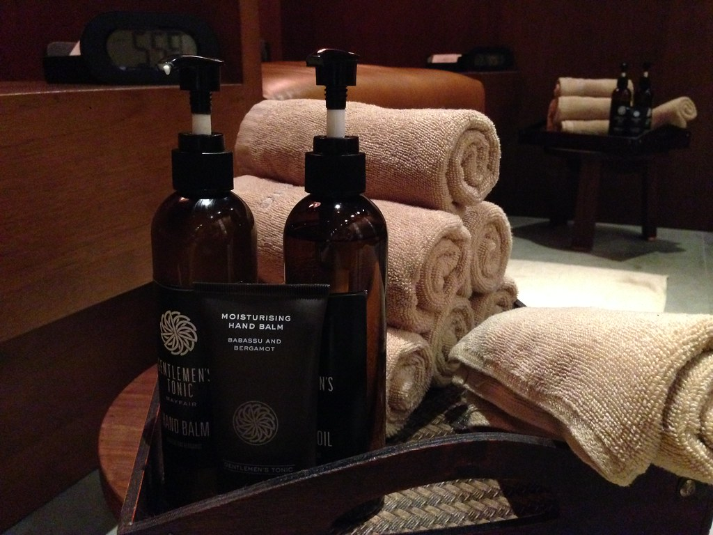 Amenities at the spa