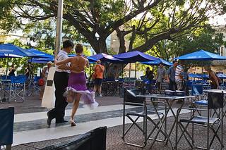 Buenos Aires - Plaza Dorrego tango