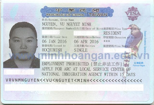Học sinh đạt học bổng du học Đài Loan khóa tháng 02/2016 2