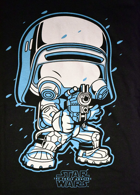 Funko Pop! Snowtrooper t-shirt (Smuggler's Bounty exclusive)
