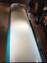 Siemens High Speed Train mock-up 3