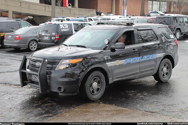 Cleveland Ohio Airport Police K-9 Ford Explorer Interceptor