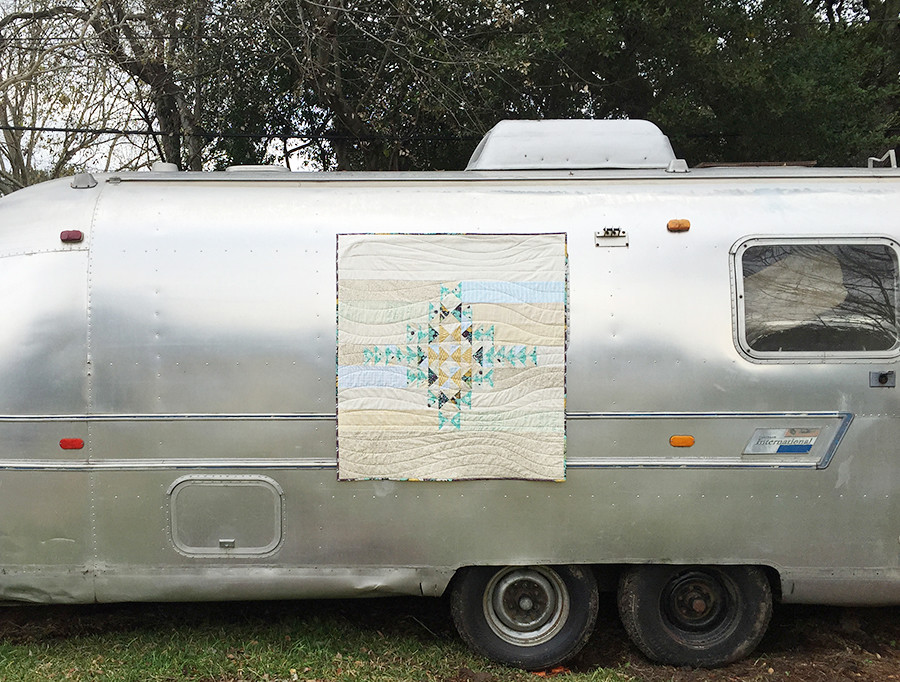 Together Quilt on Airstream