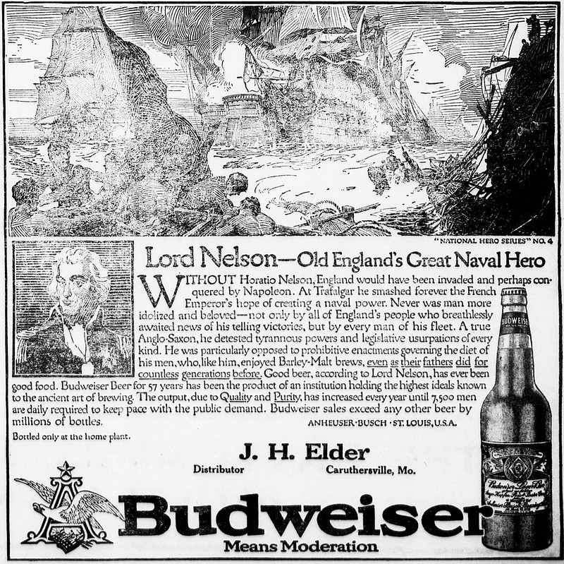 Bud-national-heroes-1914-Lord-Nelson