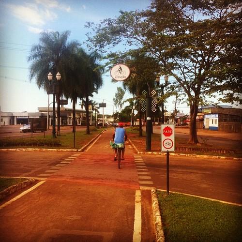 Rio Branco: 160km de ciclovias para...