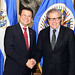 Secretary General Meets with Foreign Minister of El Salvador