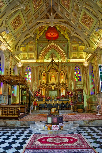 church architecture thailand religious temple pain asia buddha interior buddhist sony faith religion buddhism southeast alpha dslr wat bang 77 province slt ayutthaya niwet thammaprawat