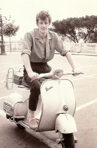 Vespa: Jean-Paul Belmondo