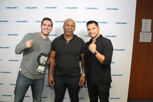 Boxing Legend Mike Tyson on the Covino & Rich Show