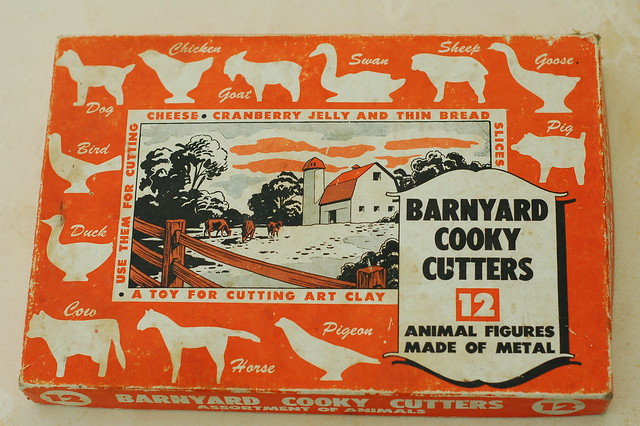 Barnyard cooky cutters by Eve Fox, the Garden of Eating, copyright 2016