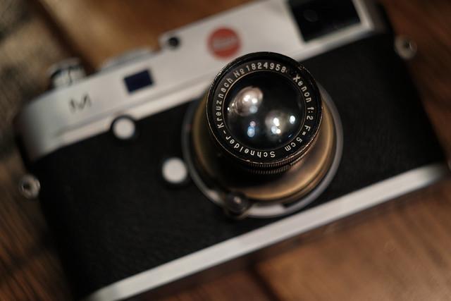 Xenon f:2 F=5cm Schneider-Kreuznach & Leica M(Typ240)