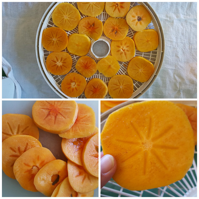 Mom's Dried Persimmons / Kaki