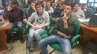 Video chat con il CERN  liceo Alpi Rutigliano (2)