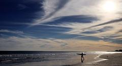 Small surf, big sky