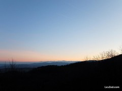 Pure sky at the sunset // Ciel pur au coucher de soleil (Pilat - France) #sunset #sky #skylovers #skyporn #instasky #country #countryside #campagne #nature #instanature #naturelovers #shadow #mount #mountains #pilat #pilatmonparc #loiretourisme #rhonealpe