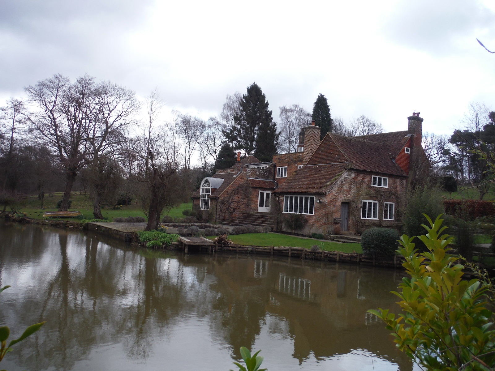 Tickerage Mill, Vivien Leigh's last abode SWC Walk 262 Uckfield to Buxted