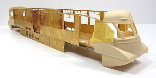GWR Railcar nose test fit 2